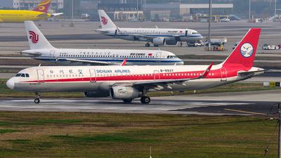 A picture of B9937 - Airbus A321231 - Sichuan Airlines - © F3E1988