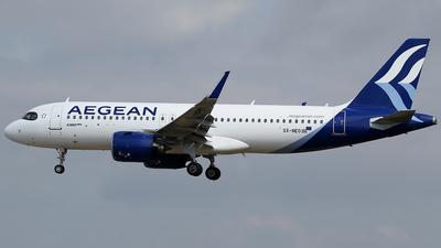 SX-NEO - Airbus A320-271N - Aegean Airlines