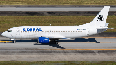 A picture of PRSDO - Boeing 7373B3(QC) - Sideral Linhas Aereas - © fachetti_spotter