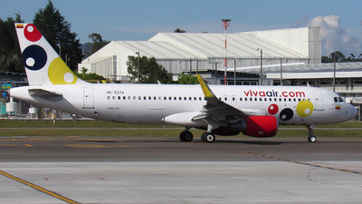 A picture of HK5274 - Airbus A320214 - Viva Air - © Santiago Osorio Ramírez