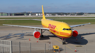 A picture of EIEXR - Airbus A300B4622R(F) - DHL - © Justin Stöckel