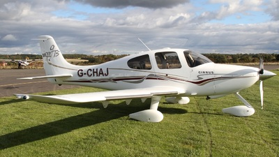 G-CHAJ - Cirrus SR22-GTS - Private