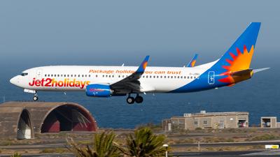 G-JZBO - Boeing 737-8MG - Jet2.com