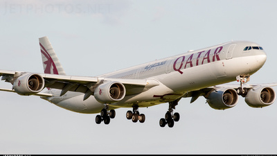 A7-AGC - Airbus A340-642 - Qatar Airways