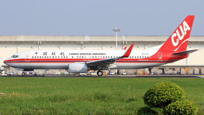 A picture of B1312 - Boeing 73789P - China United Airlines - © Egg_Shadowsine Aviation