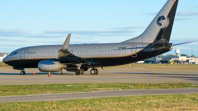 A picture of VPBRT - Boeing 7377BC(BBJ) -  - © Laszlo Fekete