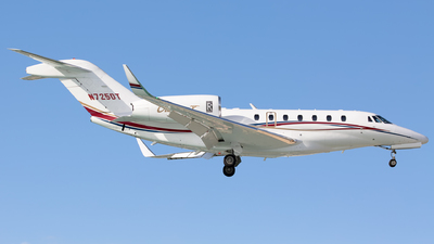 N725DT - Cessna 750 Citation X - Private