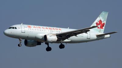 C-FYKW - Airbus A319-114 - Air Canada
