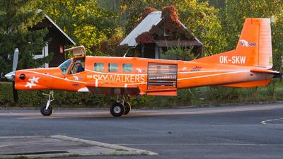A picture of OKSKW - Pacific Aerospace P750 XSTOL - [128] - © Milan Cibulka