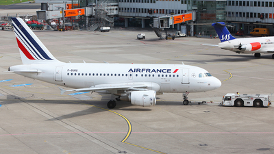 F-GUGG - Airbus A318-111 - Air France