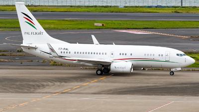 A picture of T7PAL - Boeing 7377GJ(BBJ) -  - © NRTspt_T93