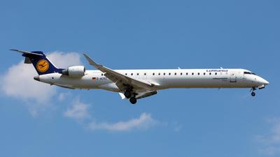A picture of DACKE - Mitsubishi CRJ900LR - Lufthansa - © Oleksandr Smerychansky