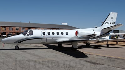 ZS-ARG - Cessna 551 Citation II(SP) - Private