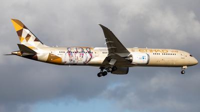 A6-BLG - Boeing 787-9 Dreamliner - Etihad Airways