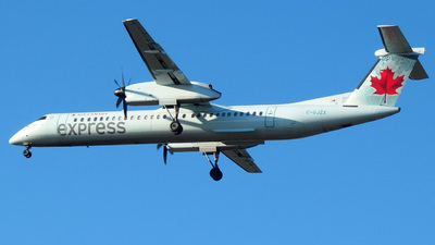 C-GJZX - Bombardier Dash 8-Q402 - Air Canada Express (Jazz Aviation)
