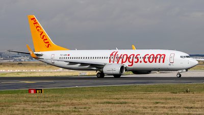 TC-IZB - Boeing 737-86J - Pegasus Airlines