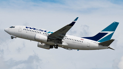 C-GWJT - Boeing 737-7CT - WestJet Airlines