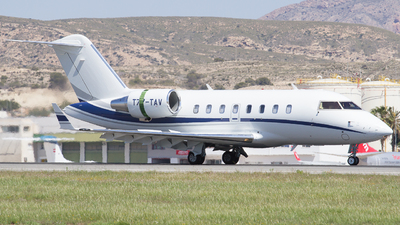 T7-TAV - Bombardier CL-600-2B16 Challenger 605 - Private