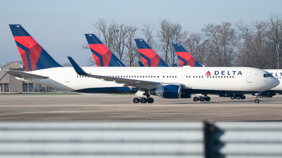 A picture of N183DN - Boeing 767332(ER) - Delta Air Lines - © Erik Goodfellow