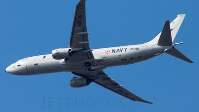 IN321 - Boeing P-8I Neptune - India - Navy