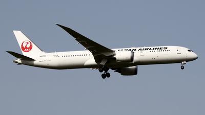 JA872J - Boeing 787-9 Dreamliner - Japan Airlines (JAL)