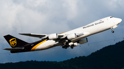 A picture of N622UP - Boeing 7478F - UPS - © Ka Hung Yue