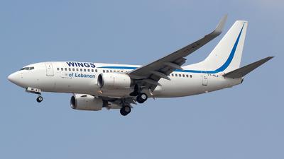 T7-WLA - Boeing 737-7K5 - Wings of Lebanon