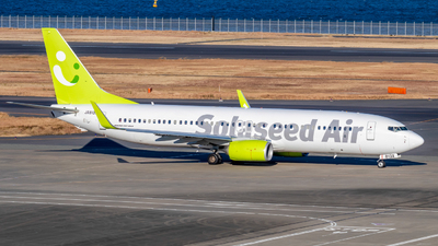 A picture of JA813X - Boeing 73786N - Solaseed Air - © Resupe