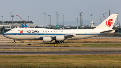 A picture of B2481 - Boeing 74789L - Air China - © Zhang Yiyang