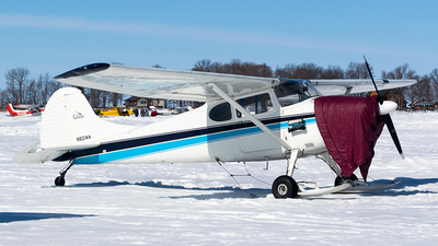 A picture of N8214A - Cessna 170B - [25066] - © John Newsome
