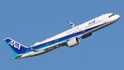 A picture of JA134A - Airbus A321272N - All Nippon Airways - © Kevin Boydston