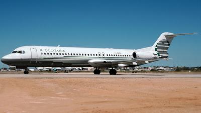F-GIOA - Fokker 100 - Occitania Jet Fleet
