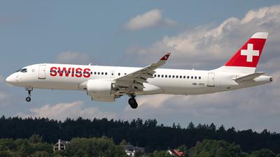 A picture of HBJCC - Airbus A220300 - Swiss - © Łukasz Stawiarz