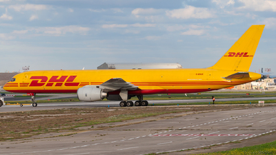 A picture of GBIKR - Boeing 757236(SF) - DHL - © Jonathan Mifsud