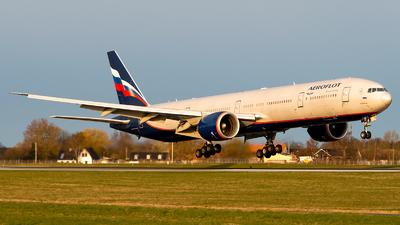A picture of VPBGC - Boeing 7773M0(ER) - Aeroflot - © GoldenWingPix