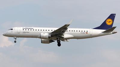 D-AECF - Embraer 190-100LR - Lufthansa Regional (CityLine)