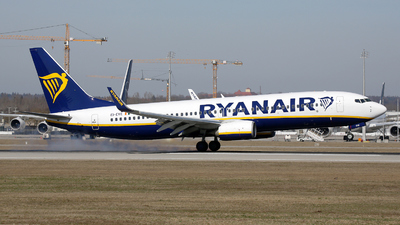A picture of EIEVE - Boeing 7378AS - Ryanair - © Stefan Mayer