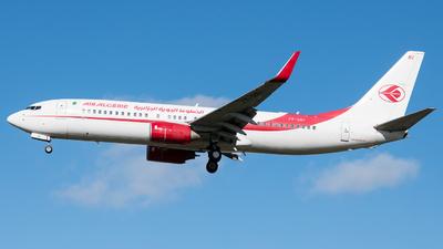 A picture of 7TVKI - Boeing 7378D6 - Air Algerie - © David W. Wilson
