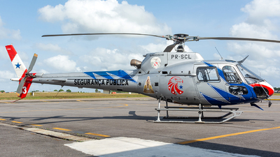 PR-SCL - Eurocopter AS 350B2 Ecureuil - Brazil - Government of Para State