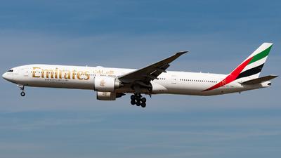 A picture of A6EBR - Boeing 77731H(ER) - Emirates - © JuliaEK