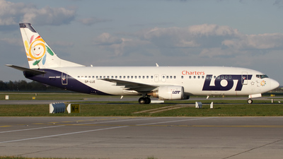 SP-LLE - Boeing 737-45D - LOT Charters