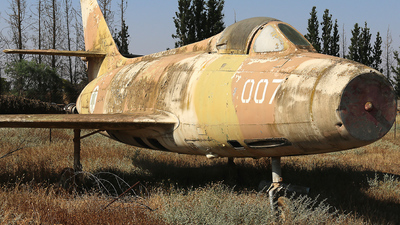 007 - Dassault MD.450 Ouragan - Israel - Air Force