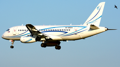 A picture of RA89054 - Sukhoi Superjet 10095LR - Gazpromavia - © Fedor Kabanov