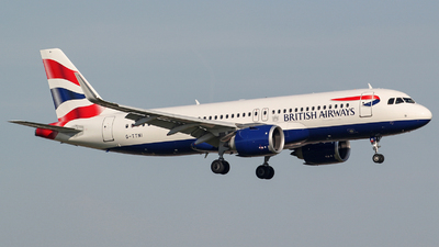 G-TTNI - Airbus A320-251N - British Airways