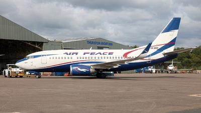 5N-BQQ - Boeing 737-524 - Air Peace