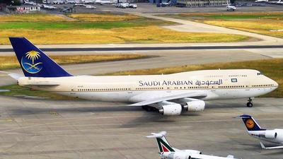 HZ-AIR - Boeing 747-368 - Saudi Arabian Airlines