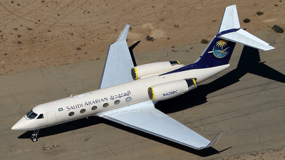 N428BC - Gulfstream G-IV - Saudi Arabian Airlines