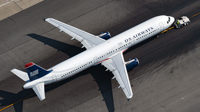 N545UW - Airbus A321-231 - US Airways