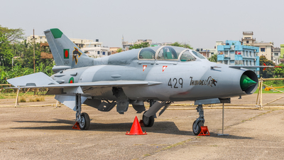 2429 - Chengdu FT-7MB - Bangladesh - Air Force