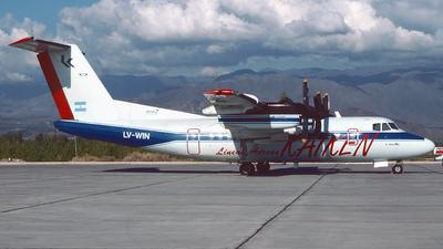 LV-WIN - De Havilland Canada DHC-7-102 Dash 7 - Kaiken Lineas Aereas
